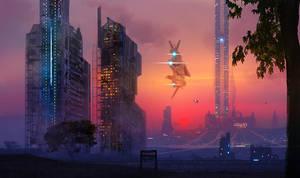Space Elevator by dustycrosley