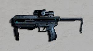 Sci-Fi Weapon Concept by dustycrosley