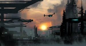 Sci Fi Structures 2 by dustycrosley