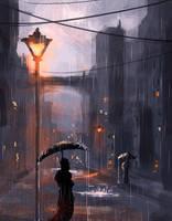 The Night by dustycrosley