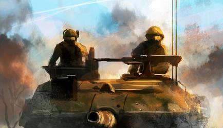 Heavy Armor by dustycrosley