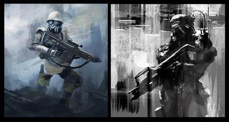 Trooper Two Pack by dustycrosley