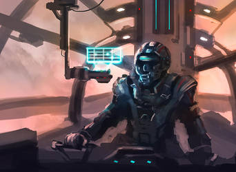Sci-Fi Pilot by dustycrosley