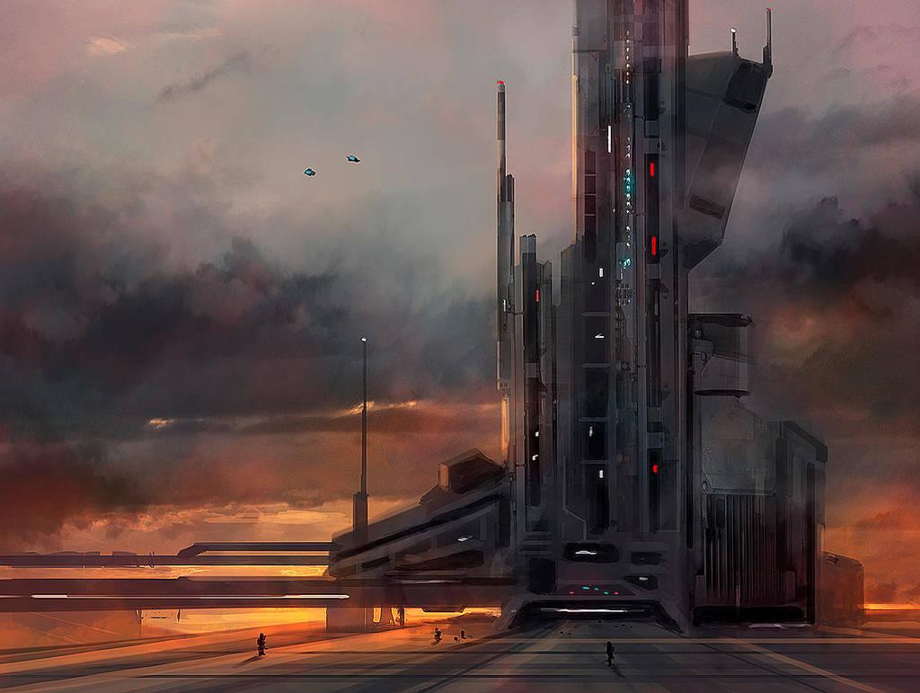 Flight Tower 387 by dustycrosley