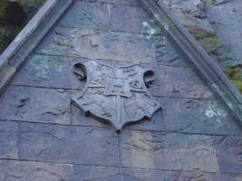 Hogwarts Castle Crest - Stock by TheCopperDragon2004