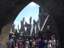 Hogsmeade Arch - Stock photo by TheCopperDragon2004