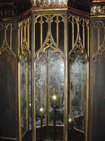 Hogwarts cabinet - Stock photo by TheCopperDragon2004