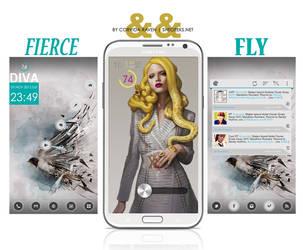 Fierce and Fly by Corvida