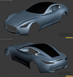 Infiniti Essence Concept WIP1 by The-IC