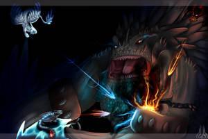 .:Bewilderbeast under attack:. by xXLegendary-FuryXx