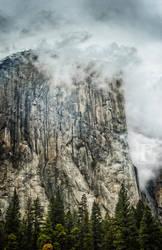 El Capitan in the Storm 2 by JForbes1701