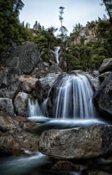 Cascade Falls Panorama by JForbes1701