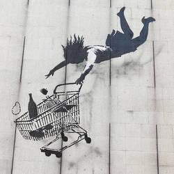 banksy:Shop Until You Drop by lar888