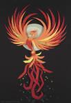 Phoenix by littlepaperforest