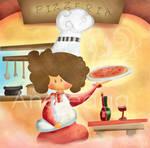 Pizza by andreaga13