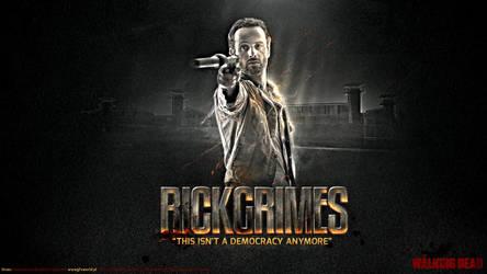 Rick Grimes Walking Dead by Orzeu