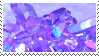 f2u - Purple aesthetic stamp #3 by Pastel--Galaxies