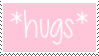 f2u - Pink aesthetic stamp #2 by Pastel--Galaxies