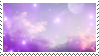 f2u - Galaxy aesthetic stamp #3 by Pastel--Galaxies