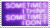 f2u - Purple aesthetic stamp #18 by Pastel--Galaxies