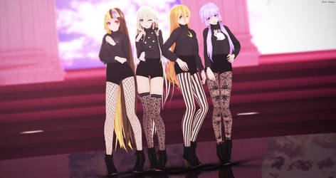 Blackpink Inspired Models - Download! by Pastel--Galaxies