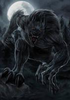Werewolf by sawangza1234