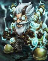 Thunder bolt Gnomes by sawangza1234