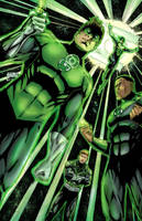Green Lanterns by BacchiColorist