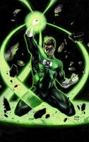 Green Lantern by BacchiColorist