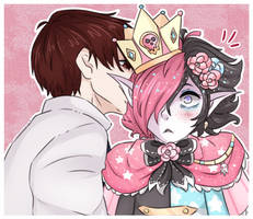 .:Teasing the prince:. by LunaticLily13