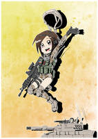 Military girls- Chilean army commando by Carlos-the-G
