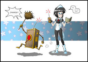 Work Hard, Little Maid!! by Carlos-the-G