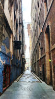 Back alley in Chinatown by Carlos-the-G