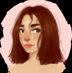 Self Portrait by nouha159