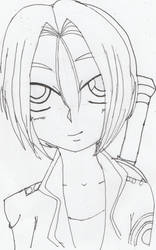 Asa Sketch DBZ Style by Elraldocoil