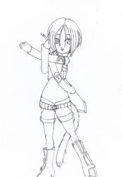 Stretching Asa by Elraldocoil