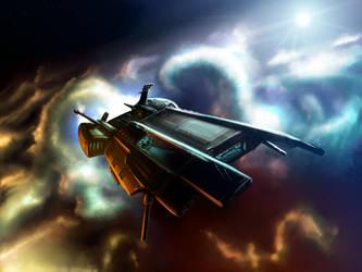 Starship by muravei