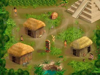 Maya map by muravei