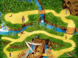 Pirats map by muravei