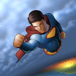 superman by muravei