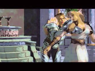 Siegfried and sophitia in Cassandra ending by Soulninja2
