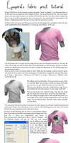 Fabric print tutorial by Eyespiral-stock