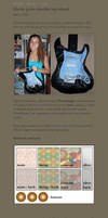 Electric guitar bag tutorial by Eyespiral-stock