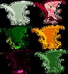 Pernese Dragon Pixels by VenusRain