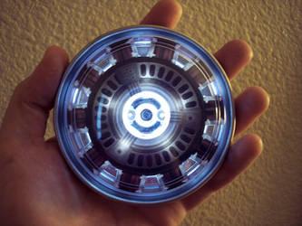 IronMan Arc Reactor Heart by TimDrakeRobin