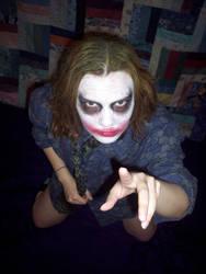 Female TDK Joker Cosply by TimDrakeRobin