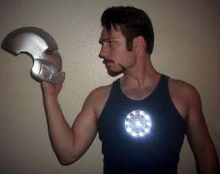 Tony Stark : Reflection by TimDrakeRobin