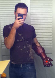 Iron Man MK IV: The Beginning by TimDrakeRobin