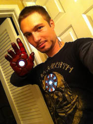 Iron Man Mk IV: Repulsor Tech by TimDrakeRobin