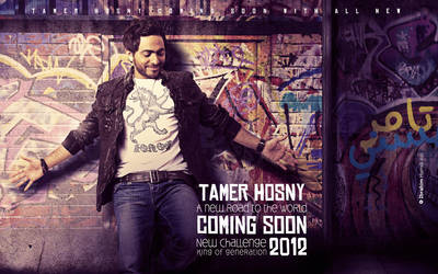 Latest Work For Tamer Hosny by adriano-designs